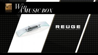 Win an Arche music box by Reuge Arts and culture