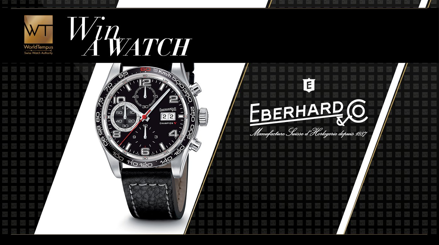 Eberhard & Co. - A happy winner