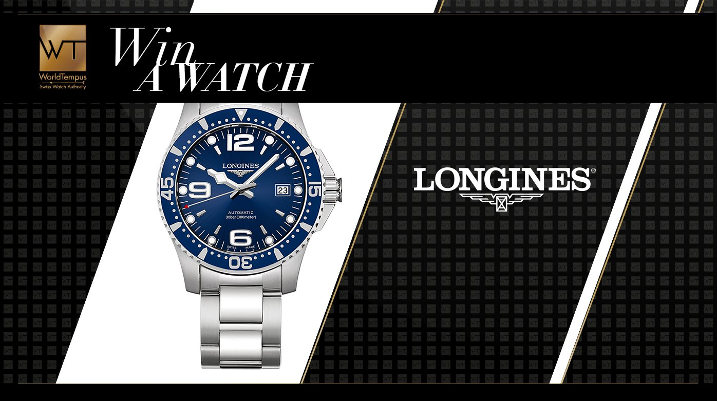 Longines - Win a Longines HydroConquest watch