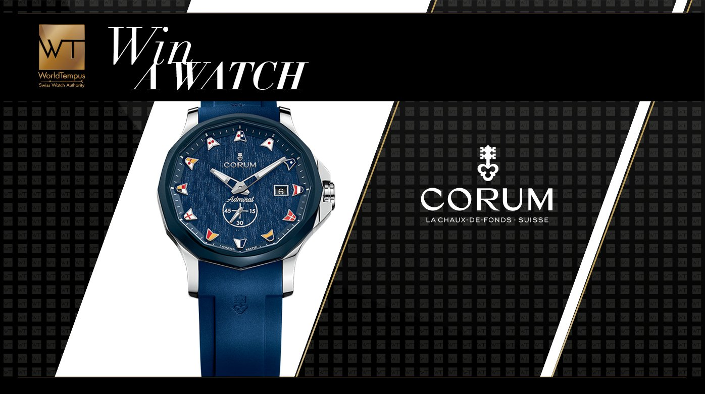 Corum - Win an Admiral Legend 42 Automatic watch