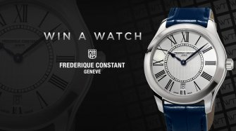 Win a Frederique Constant Ladies Classics Quartz watch Arts and culture