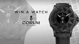 Win a Corum Admiral Legend 42 watch Arts and culture