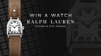 Win a Ralph Lauren Stirrup Mini Steel watch Arts and culture