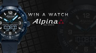 Win an Alpina AlpinerX watch Arts and culture