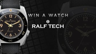 "Win a  WRB ""First Edition"" watch Arts and culture"