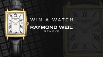 Win a Raymond Weil Toccata watch Arts and culture