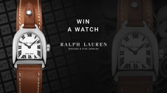 Win a Ralph Lauren Stirrup Mini Steel Arts and culture