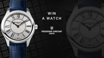 Win a Frederique Constant Ladies Classics Quartz Watch