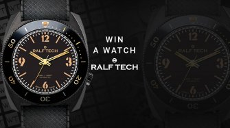 "Win a RALF TECH WRB Automatic ""First Edition Black"" Arts and culture"