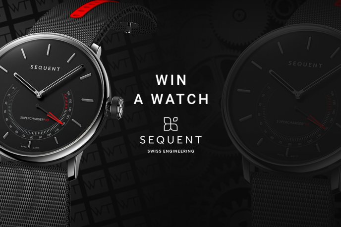 Win a Sequent SuperCharger 2.1 Premium Watch