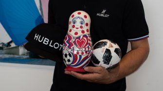 Win Hublot prizes during the Football World Cup Arts and culture