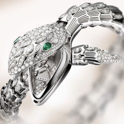 Serpenti High-Jewellery watch (ref.102238) ©Bulgari