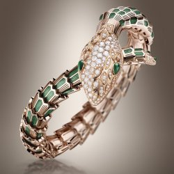 Serpenti High-Jewellery watch (ref.102240) ©Bulgari