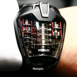 Hublot MP-05 LaFerrari: 50 days, the absolute record © Dav