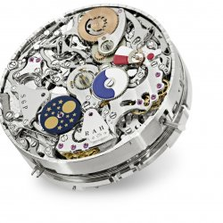 Movement, main dial  © Patek Philippe