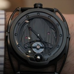 De Bethune DB28 Dark Shadows: 6 days © David Chokron/Worldtempus