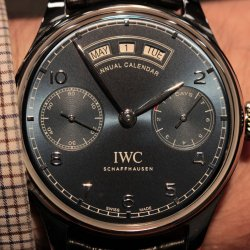 IWC Portuguese Annual Calendar: 7 days © David Chokron/Worldtempus