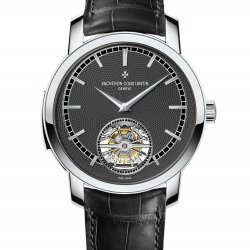 Traditionnelle minute repeater tourbillon, platinum, slate-colored dial   © Vacheron Contantin