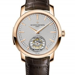 Traditionnelle répétition minutes tourbillon, or rose   © Vacheron Contantin
