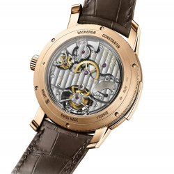 Traditionnelle minute repeater tourbillon, back  © Vacheron Contantin