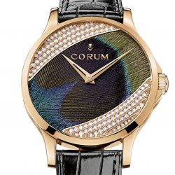 The Feather Watch by Corum. © Corum