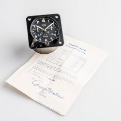 Une horloge d'avion © Glashütte Original