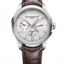 Baume & Mercier - Clifton Retrograde Date Steel 43mm