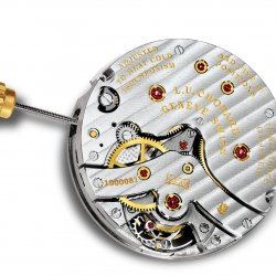 2011: Calibre L.U.C 02.01-L which powers the L.U.C Triple Certification © Chopard