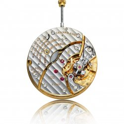 2012: Calibre L.U.C which powers the L.U.C Louis Ulysse The Tribute © Chopard