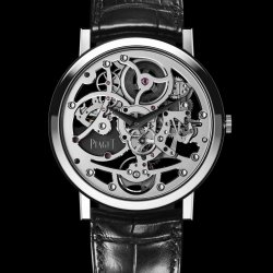 Piaget Altiplano Skeleton watch – 38mm  © Piaget