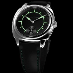 Laurent Ferrier Galet Square Boréal in green Laurent Ferrier