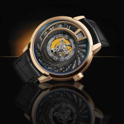 IO Jumping Hours Tourbillon © Hysek