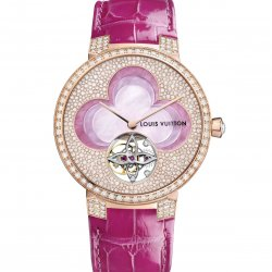 Blossom Tambour Monogram Tourbillon  © Louis Vuitton