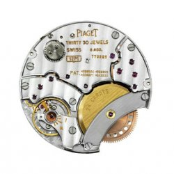 Piaget Manufacture 12P ultra-thin self-winding movement, launched in 1960 ©Piaget/F. Cruchon