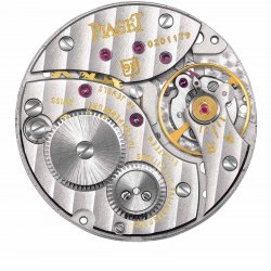 Piaget Manufacture 9P ultra-thin hand-wound movement, launched in 1957 ©Piaget/F. Cruchon