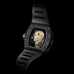 RM 52-01 Skull Nano-Céramique, back  © Richard MIlle