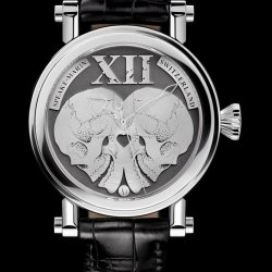 Skull Mirror  © Speake-Marin