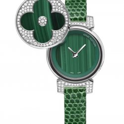 2013- Tambour Bijou Secret Malachite   © Louis Vuitton