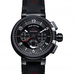 2015 - Tabour éVolution Chronograph GMT In Black  © Louis Vuitton