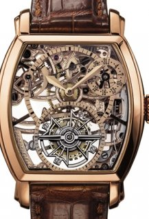 Openworked tourbillon