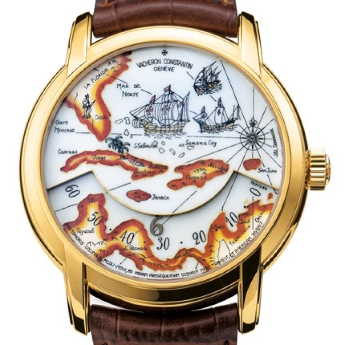 "Vacheron Constantin - Hommage aux grands explorateurs - Expédition ""Christophe Colomb"""
