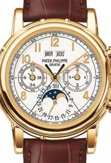 plit seconds chronograph with 30 minute counter and perpetual calendar