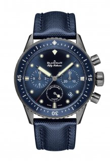Bathyscaphe Chronographe Flyback Ocean Commitment