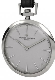 Contemporaine pocket watch - Collection Excellence Platine