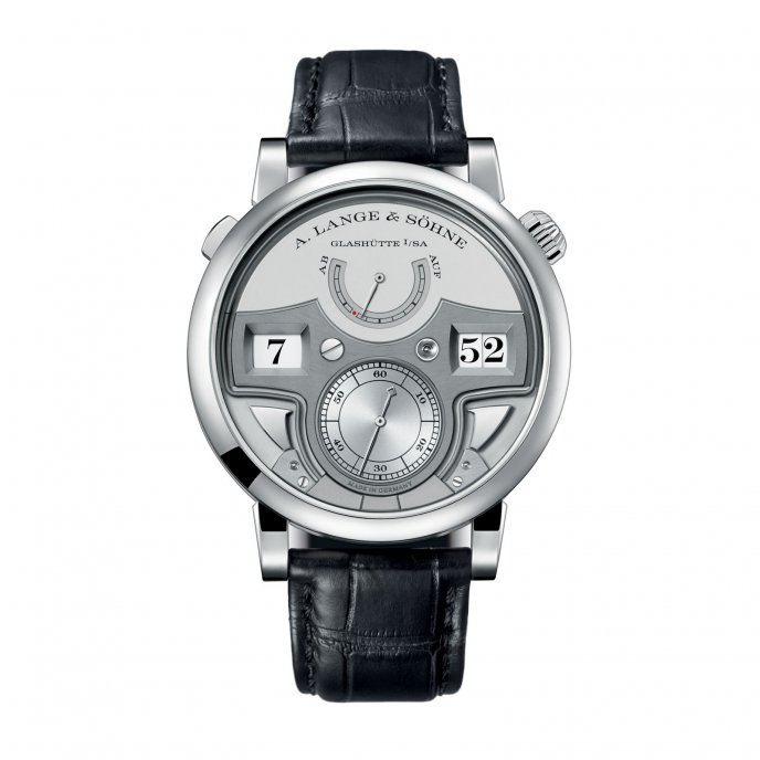 A. Lange & Söhne Zeitwerk Répétition à Minutes 147.025F watch face view
