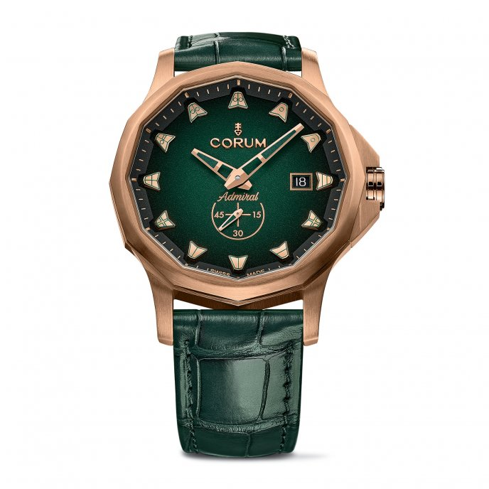 Admiral 42 Automatic Bronze Green
