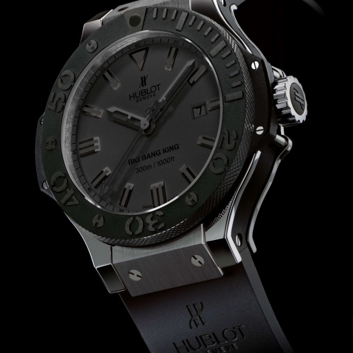 Hublot - All Black King