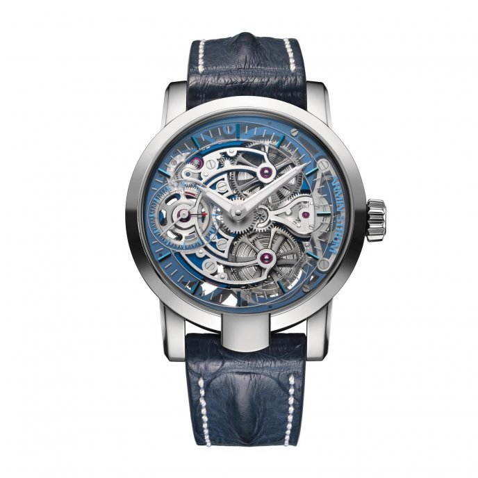Armin Strom Skeleton Pure Water ST15-PW.05 watch face view