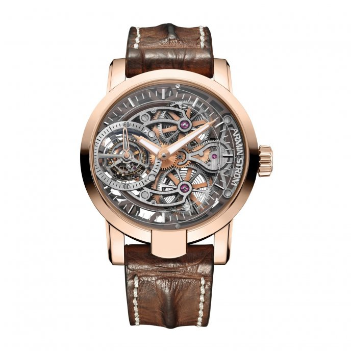 Tourbillon Skeleton Fire