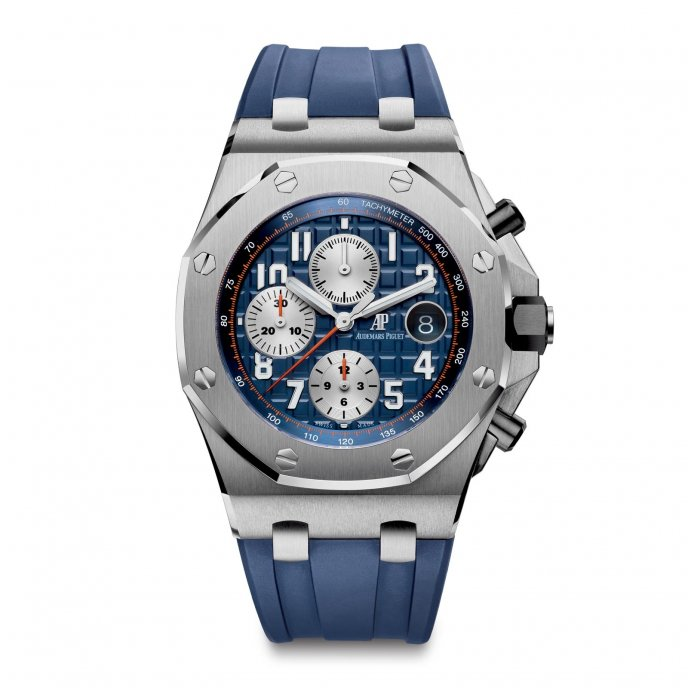 Audemars Piguet Royal Oak Offshor Chronograph 26470ST.OO.A027CA.01 - watch face view